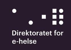 Logo Direktoratet for e-helse